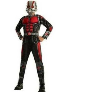 Boys Marvel 3 Pc Antman MUSCLE Costume- S 4/6